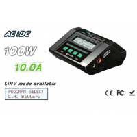 EV-PEAK C1-XR AC/DC 100W/10A LiHV charger discharger IR meter acceptable